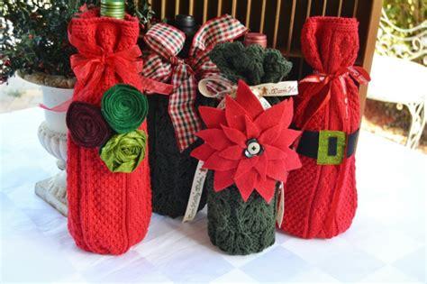 Flaschen Schön Verpackt by 109 Weihnachtliche Ideen Zum Geschenke Verpacken