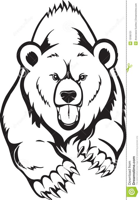 tribal grizzly bear tattoos animals for gt grizzly drawing burning patterns