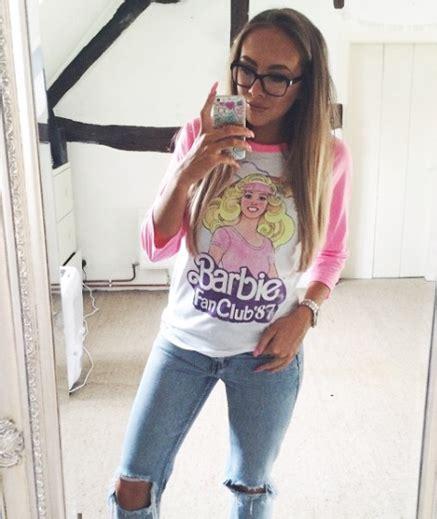 fan club t shirts women s barbie fan club 87 raglan baseball t shirt