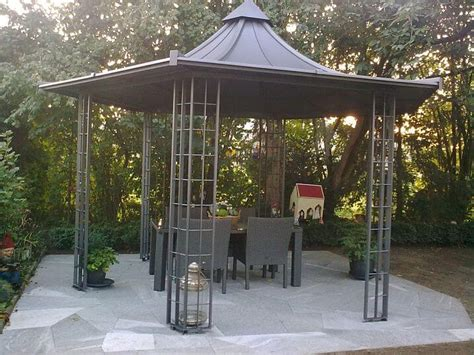 Pavillon Metall by Pavillon Metall Gartenpavillons Metall