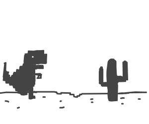 chrome game dino google chrome s quot no internet dinosaur game quot