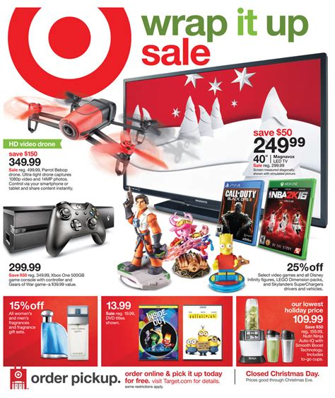 last day target home sale up to 20 off and buy more target weekly ad christmas dec 20 2015