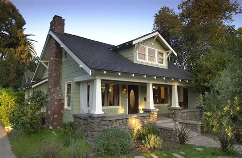 Craftsman Style Ranch Homes by 1911 Craftsman Bungalow In Pasadena California