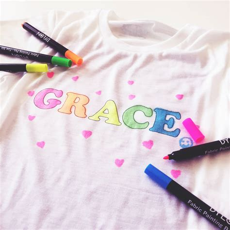 t shirt design maker kit personalised children s make your own colour in t shirt by