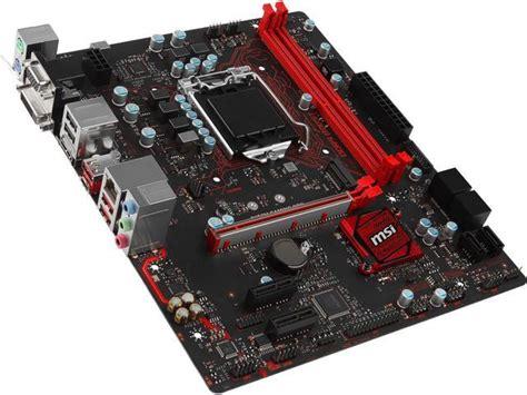 Msi B250m Mortar Lga 1151b250ddr4 msi b250m gaming pro lga 1151 intel b250 hdmi sata 6gb s usb 3 1 micro atx motherboards intel