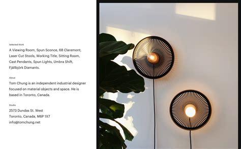 design industrial online tom chung siteinspire