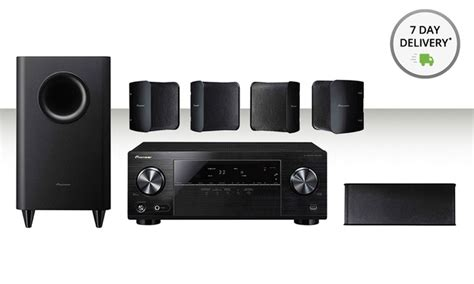 pioneer 5 1 channel home theater groupon goods