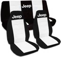 Car Seat Covers For Jeep Wrangler Jeep Wrangler Yj Tj Jk 1987 To 2015 Two Tone Seat Covers