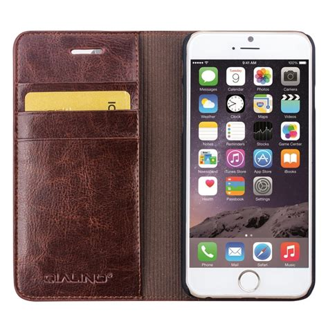 iphone 6 6s 4 7 inch classic leather wallet qialino