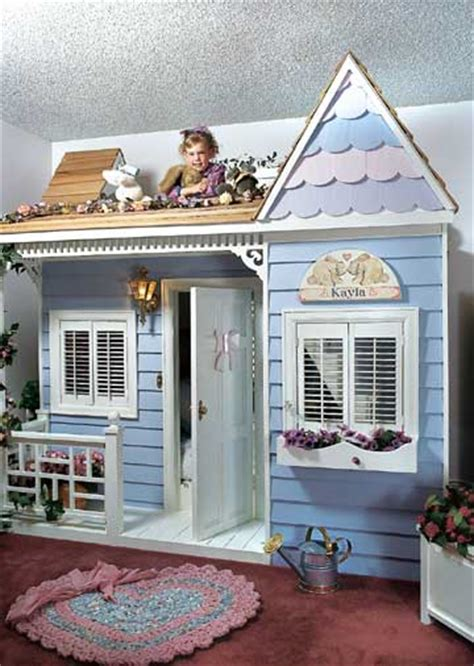 doll house bed kids magical indoor playhouses design dazzle