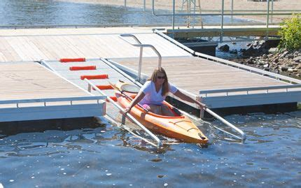 jet boat weed rake the dock doctors launch dock systems for kayak and