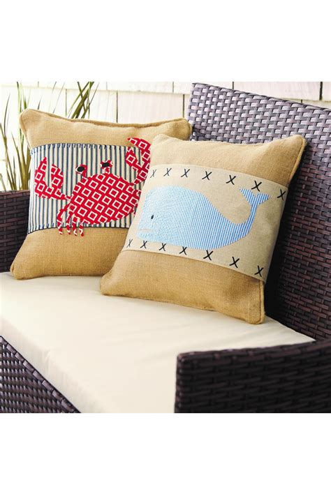 Pillow Wraps by Mud Pie Crab Pillow Wrap From Virginia By Barnett S