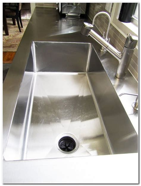 one kitchen sink and countertop all in one glass sink and countertop sink and faucet