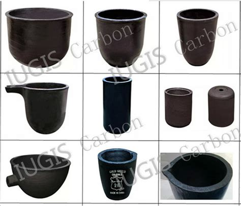 induction heating graphite crucible china graphite crucible for induction thermal furnace china graphite crucible