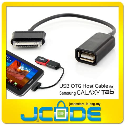 Usb Otg Cable For Smartphone S K03 S K07 Hitam Micro usb otg host cable for samsung galaxy tab s k03 end 6 1