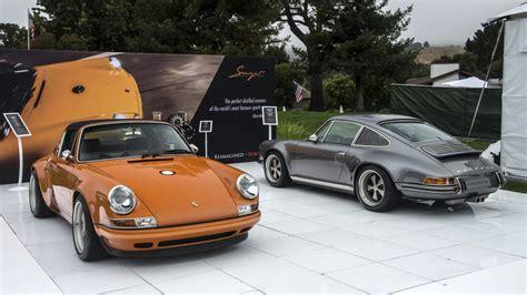 Stinger Porsche Singer S Porsche 911 Has The Most Amazingly Retro
