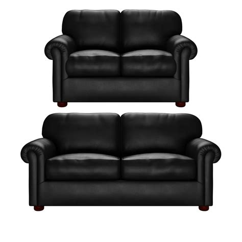2 seater and 3 seater sofa york 2 seater 3 seater sofas in vele black from sofas