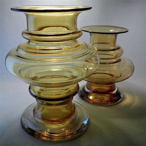 Scandinavian Glass Vases by Scandinavian Glass Vase Circa 1970 Collectors Weekly