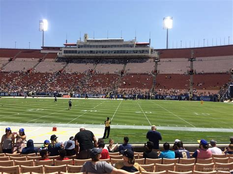 Section 8 La by Los Angeles Memorial Coliseum Section 20 Rateyourseats