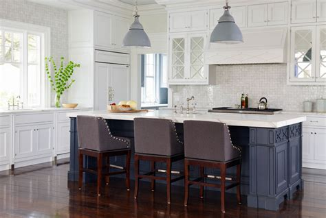 Blue Bar Stools Kitchen Furniture Furniture Kitchen With Blue Kitchen Cabinets With Wooden Bar Stools And Wood Floor