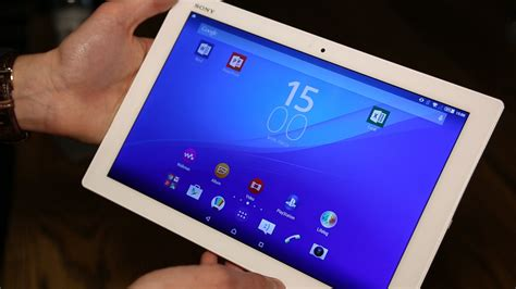 Tablet Sony Z4 xperia z4 tablet sony takes on apple air 2 with qhd screen and slim design