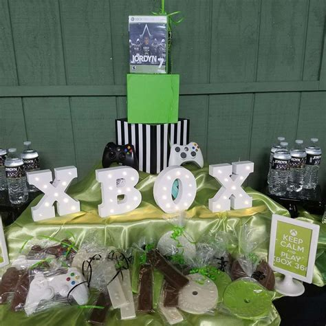 themed gamer party video games birthday party ideas photo 1 of 20 catch