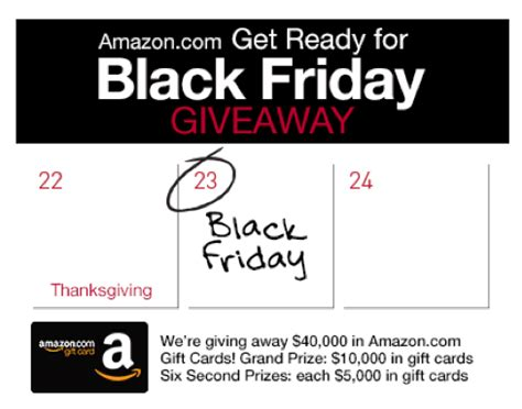Amazon Gift Card Black Friday - enter to win a 5 000 or 10 000 amazon com gift card money saving mom 174