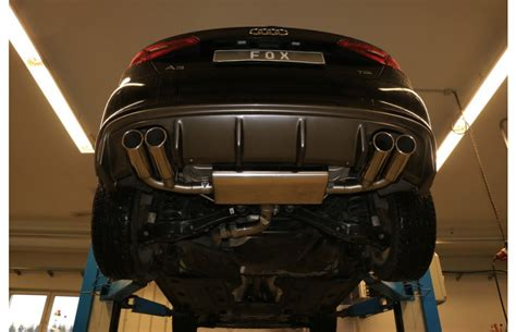Audi A3 Sportback Baujahr 2012 by Fox Duplex Sportauspuff Audi A3 8v Sportback 1 4l Tfsi