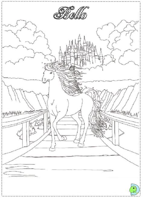 bella sara coloring pages to print az coloring pages