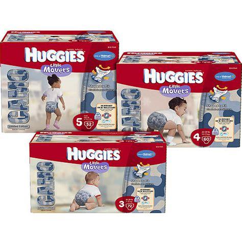diapers walmart huggies movers camo diapers sizes 3 4 5 walmart