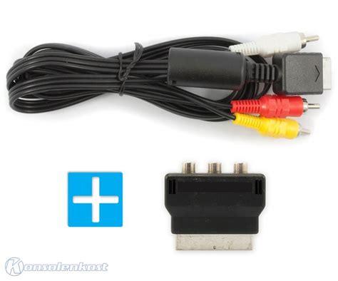 Kabel Adaptor Ps2 ps2 av cinchkabel cinch kabel scart adapter kaufen