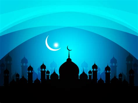 design masjid photoshop mosque with night vector backgrounds 03 vector