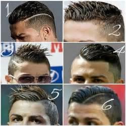 6 coupes de cheveux de ronaldo cr7 ronaldo