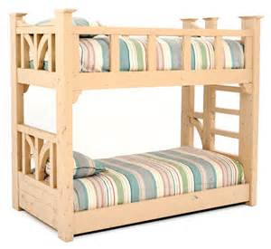 furniture bunk bed cottage bunk bed rustic bunk bed painted reclaimed wood