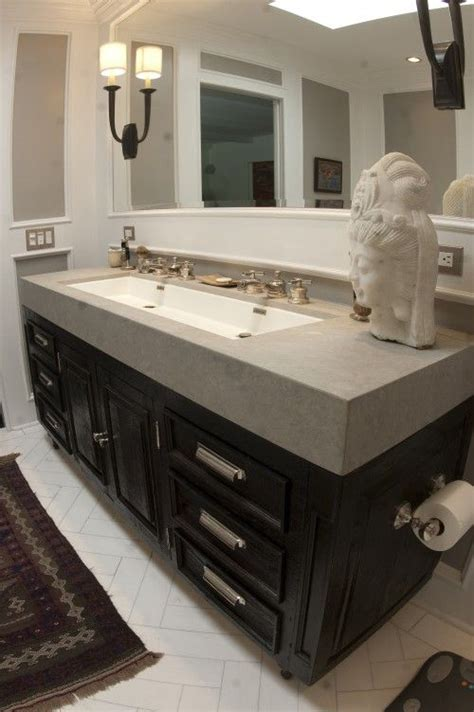 long undermount bathroom sink sinks trough sink and squares on pinterest