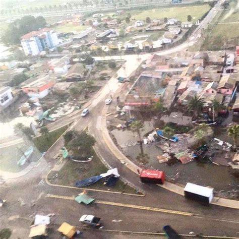 earthquake tsunami tsunami and m8 3 earthquake destroy coquimbo chile
