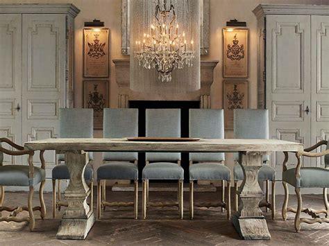 massivholz formelle esszimmer sets design vintage esszimmer