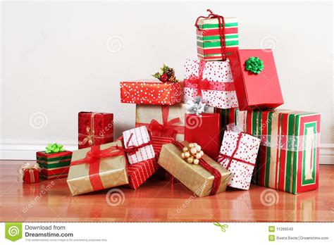 gift for shopping gift pile on a floor stock photo image 11266540