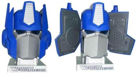 Transformers Speakers In Disguise It Had To Be Said by Robots In Pretty Weak Disguise Optimus Prime Usb