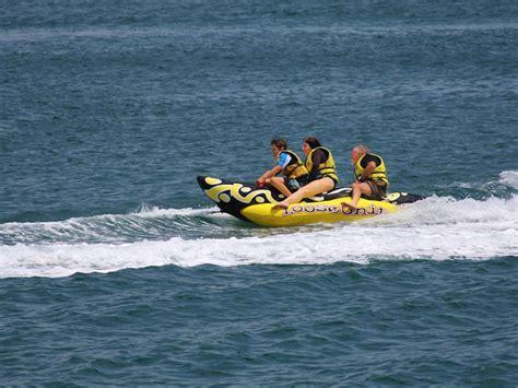 banana boat resort banana boat rides tangalooma resort activities watersport
