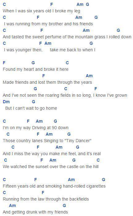 pattern up lyrics castle on the hill chords capo 2 ed sheeran good hears