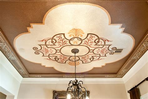 Ceiling Stencil by Stencil Decorative Faux Finishes Paint Pattern