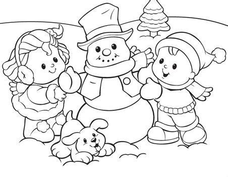 fisher price making a snowman fisher price coloring