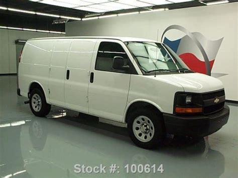 auto air conditioning service 2001 chevrolet express 2500 engine control buy used 2013 chevy express cargo van v6 air conditioning 25k mi texas direct auto in stafford