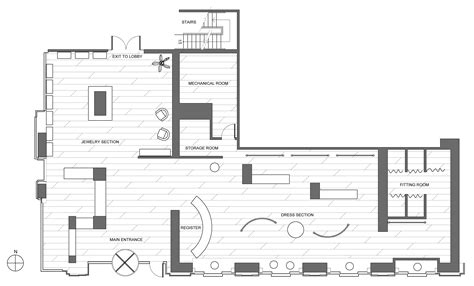 layout online shop retail clothing store floor plan google search