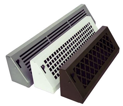 1 floor heat registers vent covers baseboard register