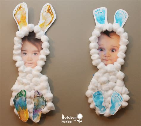 easter projects easter craft idea little bunnies thriving home