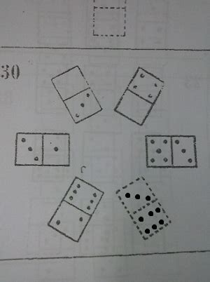 missing pattern questions pattern find the missing domino puzzling stack exchange