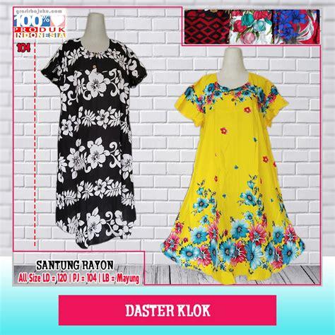 Daster Klok Katun daster klok dewasa murah sentra produsen baju pakaian
