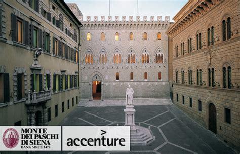 sede legale monte dei paschi di siena oudste bank ter wereld huurt accenture in